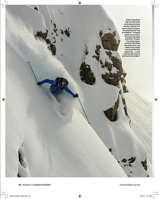 Warren Miller Entertainment. Ian McIntosh.