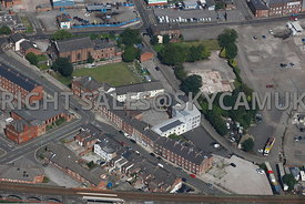 Warrington aerial photograph of the area surrounding Bewsey Street and Dallam Lane