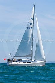 Sea Rich, Hanse 370, GBR1364L, 20160508011