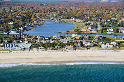 Beach and Ogden Pond Quogue New York