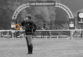 Oliver Townend - dressage phase,  Land Rover Burghley Horse Trials, 4th September 2014.