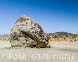 Boulder near Giant Rock | Paul Ottaviano Photography