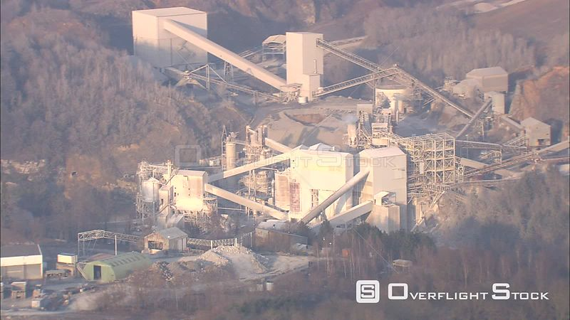 Mineral extraction facility and quarries, Belgium