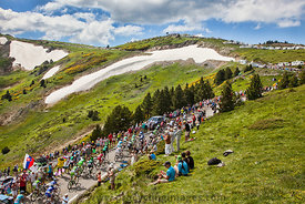 The Peloton in Mountains - Tour de France 2013