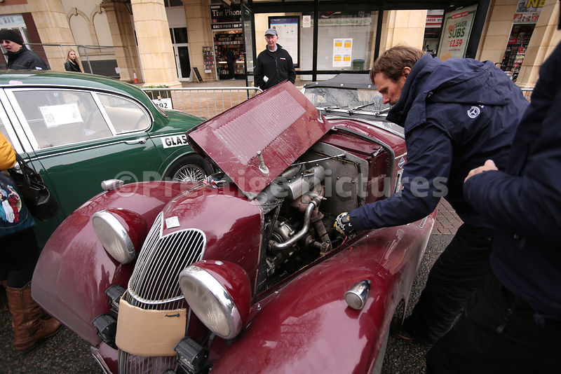 Royalty Free Stock Photo - Banbury Passage Monte-Carlo Historique Rally 2019