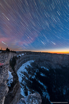 Creux du Van startrail - Switzerland