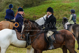 At Launde Abbey - The Cottesmore Hunt at Tilton on the Hill, 9-11-13