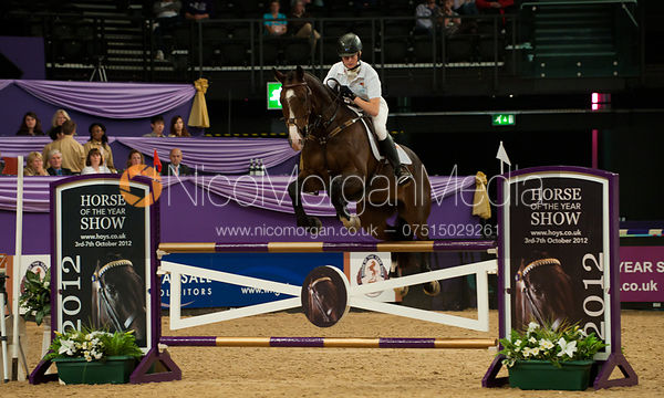 Georgie Spence and Wii Limbo - HOYS - Express Eventing Show Jumping