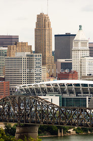 Picture of Cincinnati Downtown City Buildings