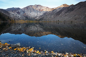 Daylight on Convict Lake