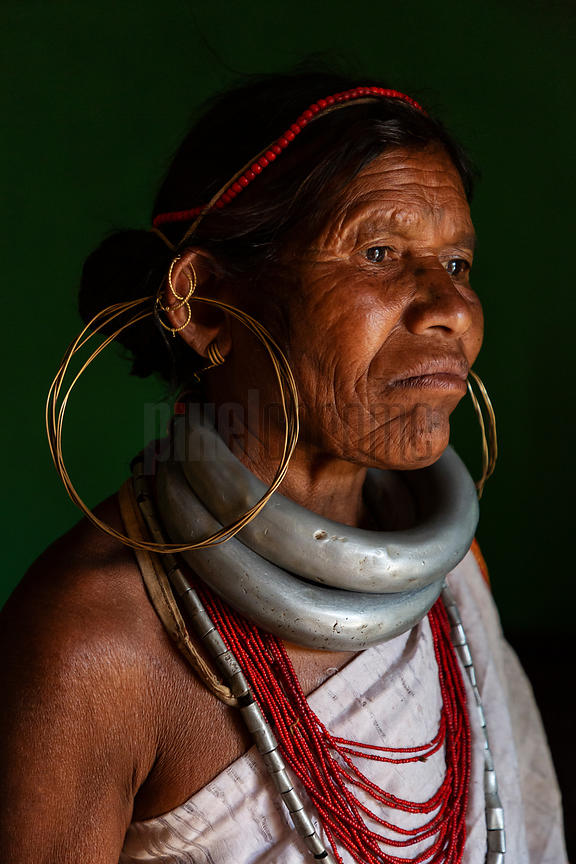 Portrait of a Woman from the Gadaba Tribe
