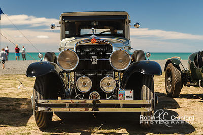 Art Deco Sunday 2014.  Gatsby Picnic.  1929 Cadillac 341B, 5 passenger sedan.  License Plate 155RVY