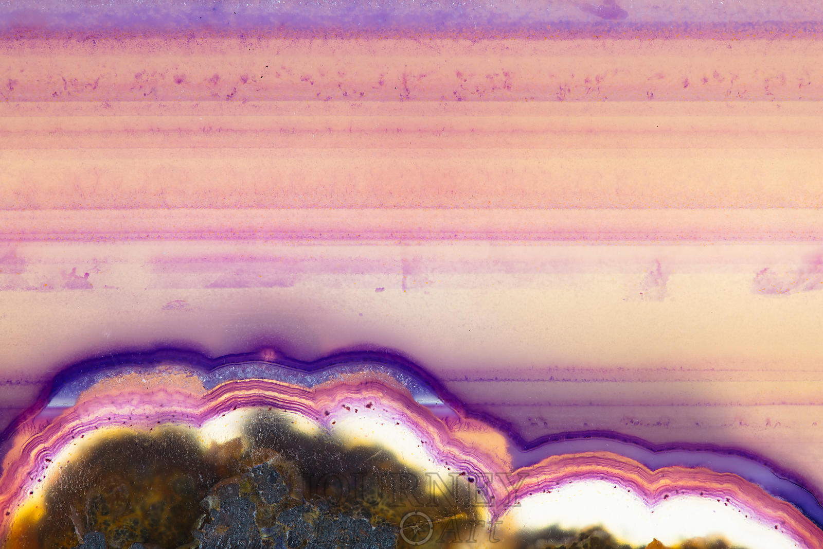 Purple Layers Edge