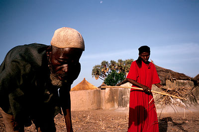 Asumpaheme and Anafo working in the fields