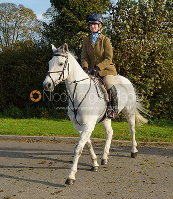 leaving the meet at Long Clawson 28/10