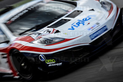 23 Zak Brown / Alvaro Parente United Autosports McLaren MP412C GT3