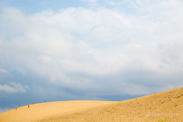 DUNES IN JOCKEY'S RIDGE STATE PARK NAGS HEAD OUTER BANKS NORTH CAROLINA