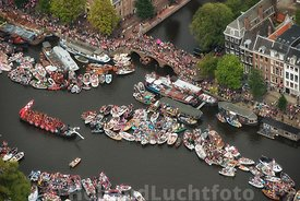 Amsterdam - Luchtfoto Canal Parade 15