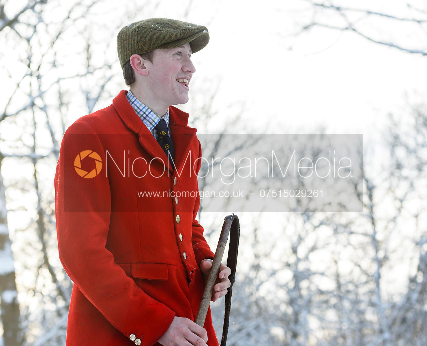 Hartley Crouch - Cottesmore Hound Exercise in Owston Woods