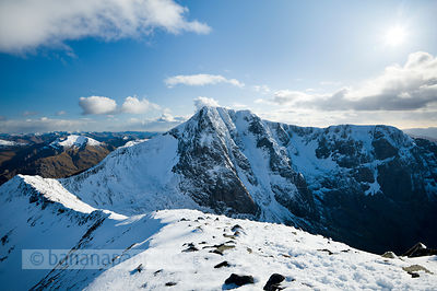 BP2916B - Ben Nevis and the Carn Mor Dearg arête