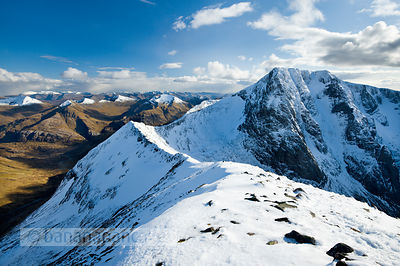 BP2916 - Ben Nevis and the Carn Mor Dearg arête