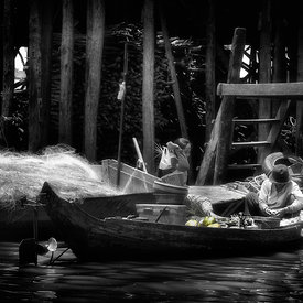 """People of the Water - Tonle Sap - 1"""