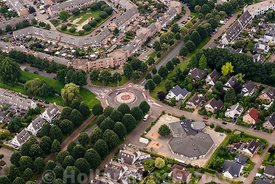 Ede - Luchtfoto Basisschool Edese Obs