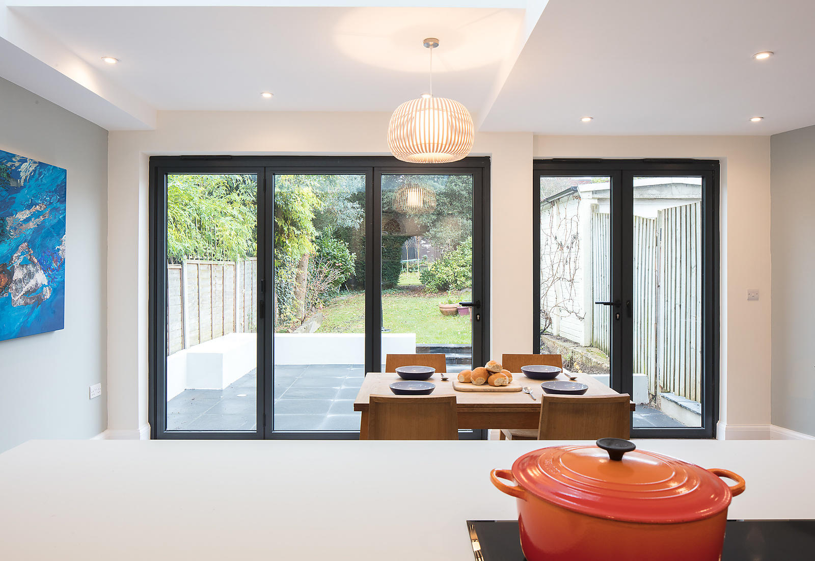 Interior photographs of house extension by Nicholas Jamieson