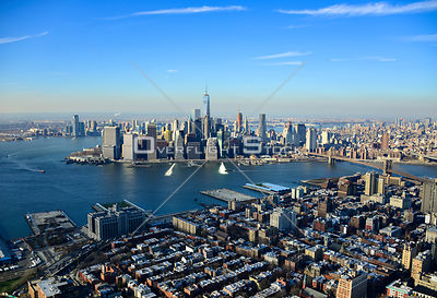 Downtown New York City Skyline
