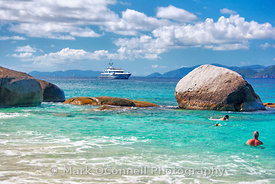 4 You anchored off Virgin Gorda