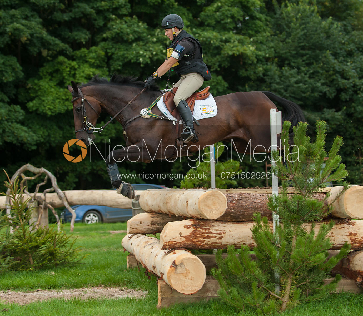 Sammi McLeod and Kintara - cross country - CIC** - Somerford Park (2) Horse Trials 19/8/12