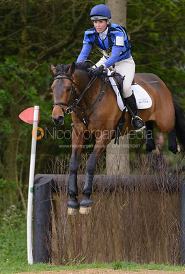 Clea Phillipps and RICKY ROLLER - Brigstock International Horse Trials, Rockingham Castle 2014