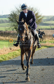 Meghan Healy At Timothy's. The Cottesmore Hunt at Hill Top Farm 11/12
