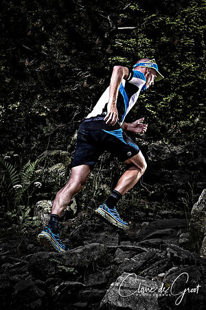 Trail Running Sports Portrait