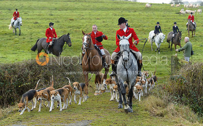 The Belvoir Hunt at Debdale Farm 11/11