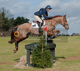 Piggy French and Willows Tipster, Oasby Horse Trials 2011