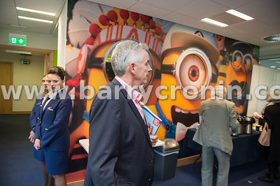 21st September, 2017.Ryanair AGM at Ryanair HQ, Swords. Pictured is Ryanair CEO Michael O'Leary arriving at the AGM.Photo: BA...