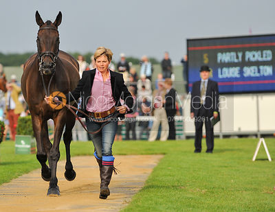 Louise Skelton and Partly Pickled - 2nd Inspection - Burghley 2010