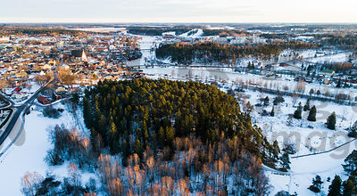 Castle hill of Porvoo