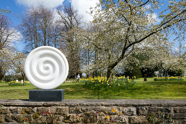 Sculpture at Cheeseburn, Northumberland