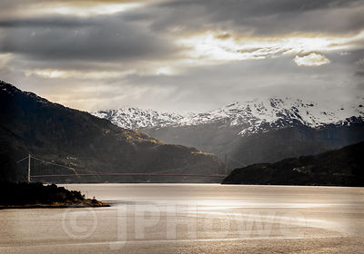 Morning light on the Waters of the Hardangerfjorden