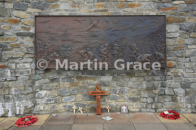 Liberation Memorial mural, Stanley, East Falkland, Falkland Islands