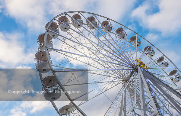 The Birmingham Ferris Wheel, Centenary Square, Birmingham