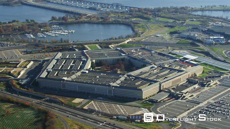 Close View of the Pentagon.