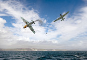 Bf109 down in the Channel