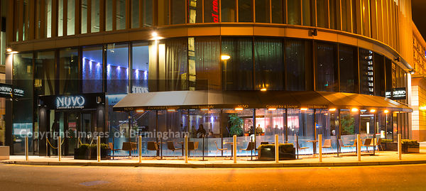 Nuvo bar in Brindleyplace, Birmingham