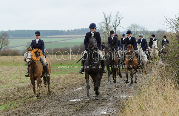 The VWH visit the Belvoir Hunt at Bescaby Hall 26/11
