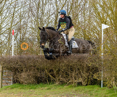 Piggy French and CASTLETOWN CLOVER. Oasby (1) Horse Trials 2019