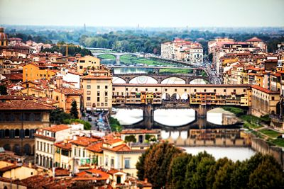 Bridges of Florence Italy