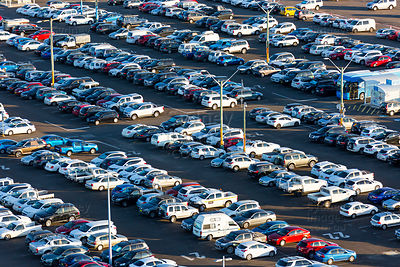 Long Term Carpark, Sydney Airport